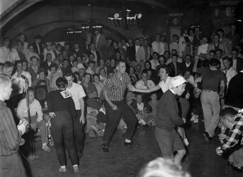 Throwback Thursday: Badger Olympics in the Rathskeller
