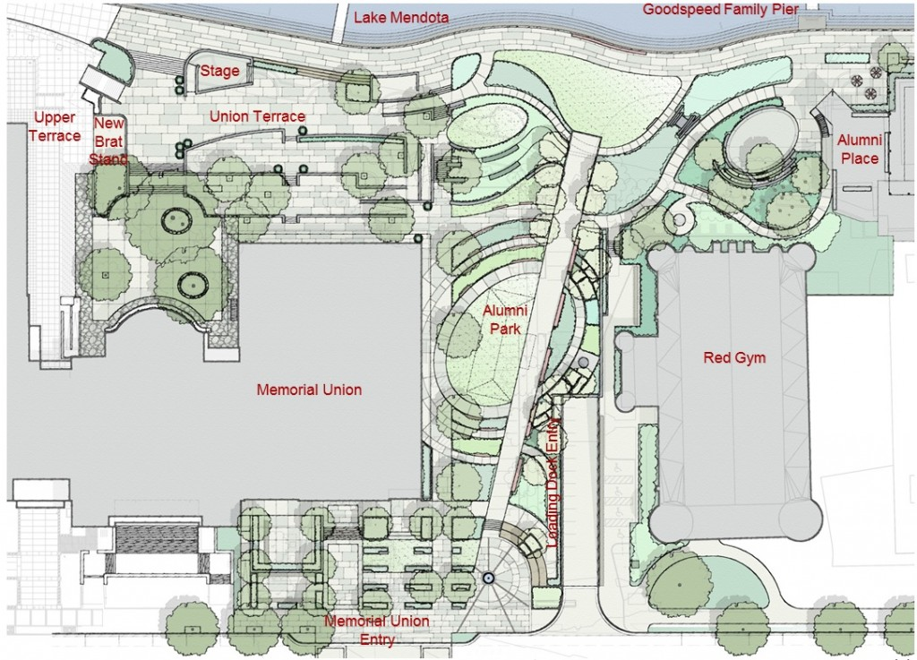 Draft plan of Alumni Park
