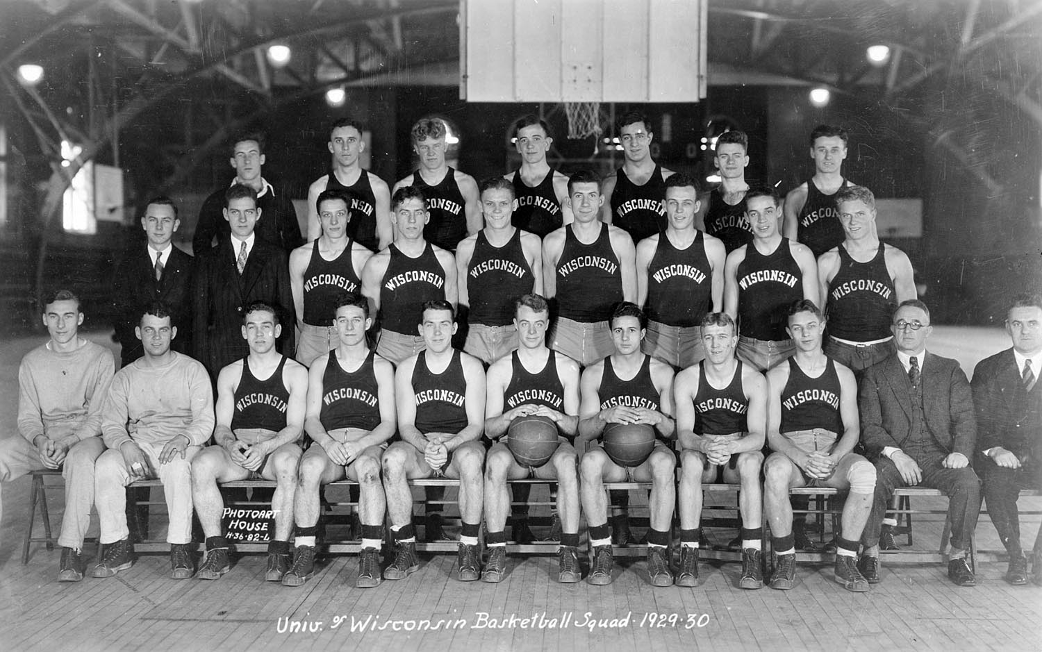 Up to 1930, the Wisconsin basketball team called the Red Gym home. But visiting athletic teams had no interest in calling the Memorial Union, next door, home.