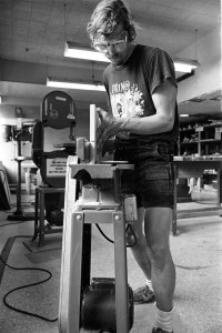 Woodworking in 1986