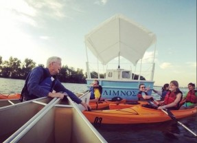 Get to Know a 'Paddling' Professor