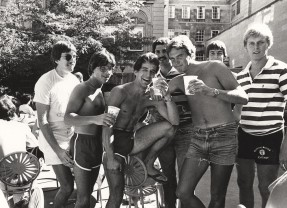 Throwback Thursday: Toasting at the Terrace