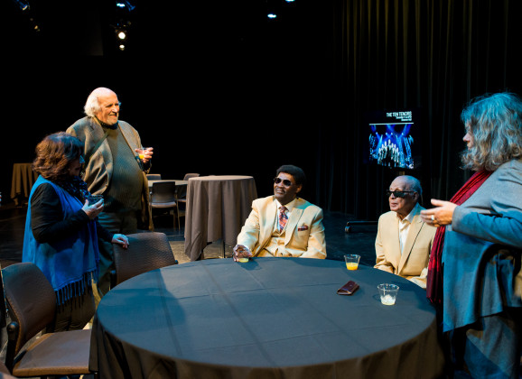 Photo Gallery: Members Meet the Blind Boys and Liz Vice