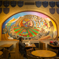 Gekas Lounge Murals Display Stories of Diverse Historical Figures
