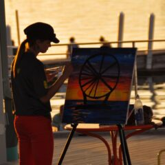 Brush Up on Your Painting Skills at 'Paint to Music'
