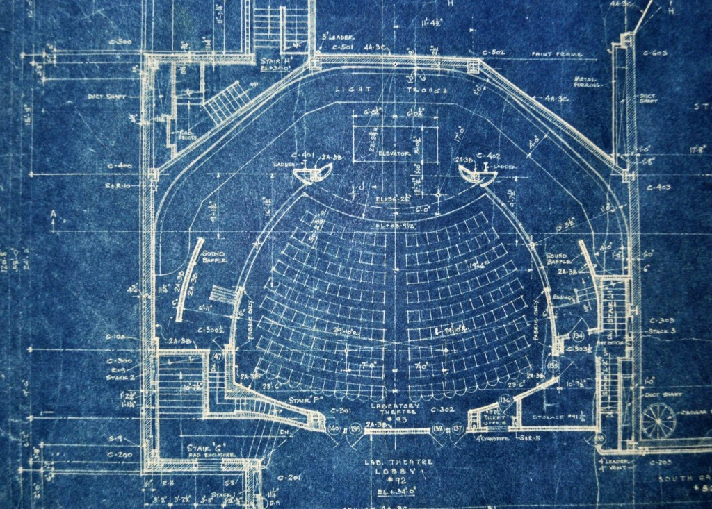 Blue Print of Theater