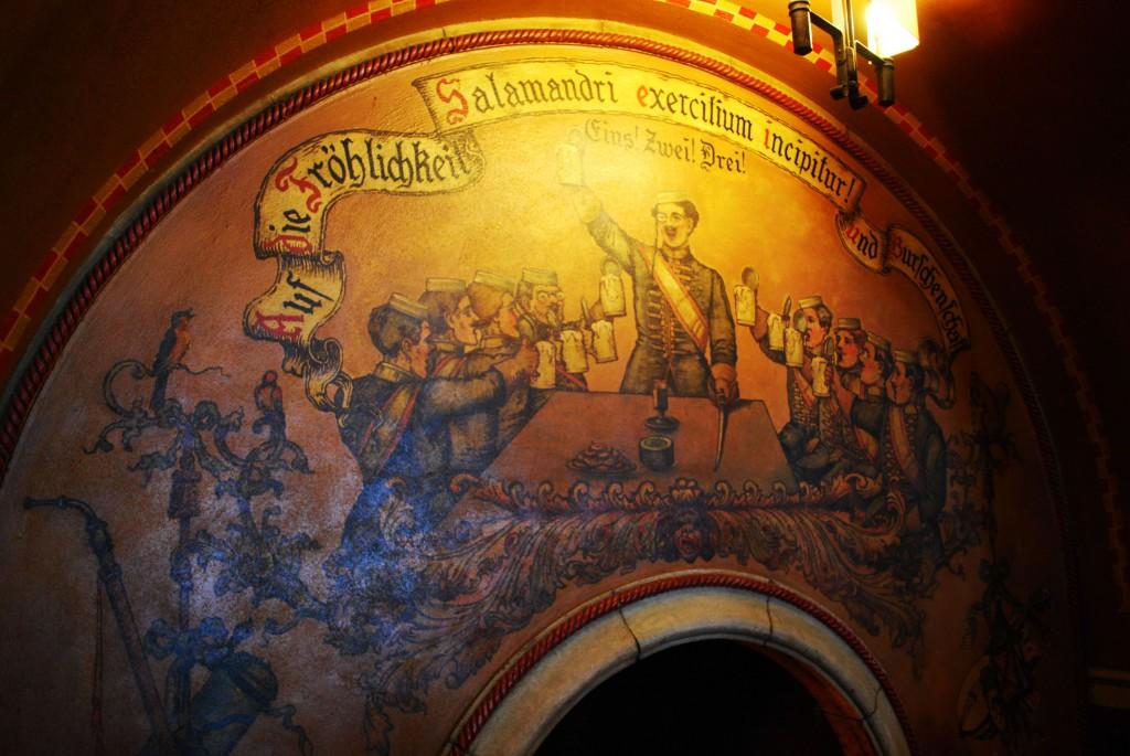 Rathskeller mural