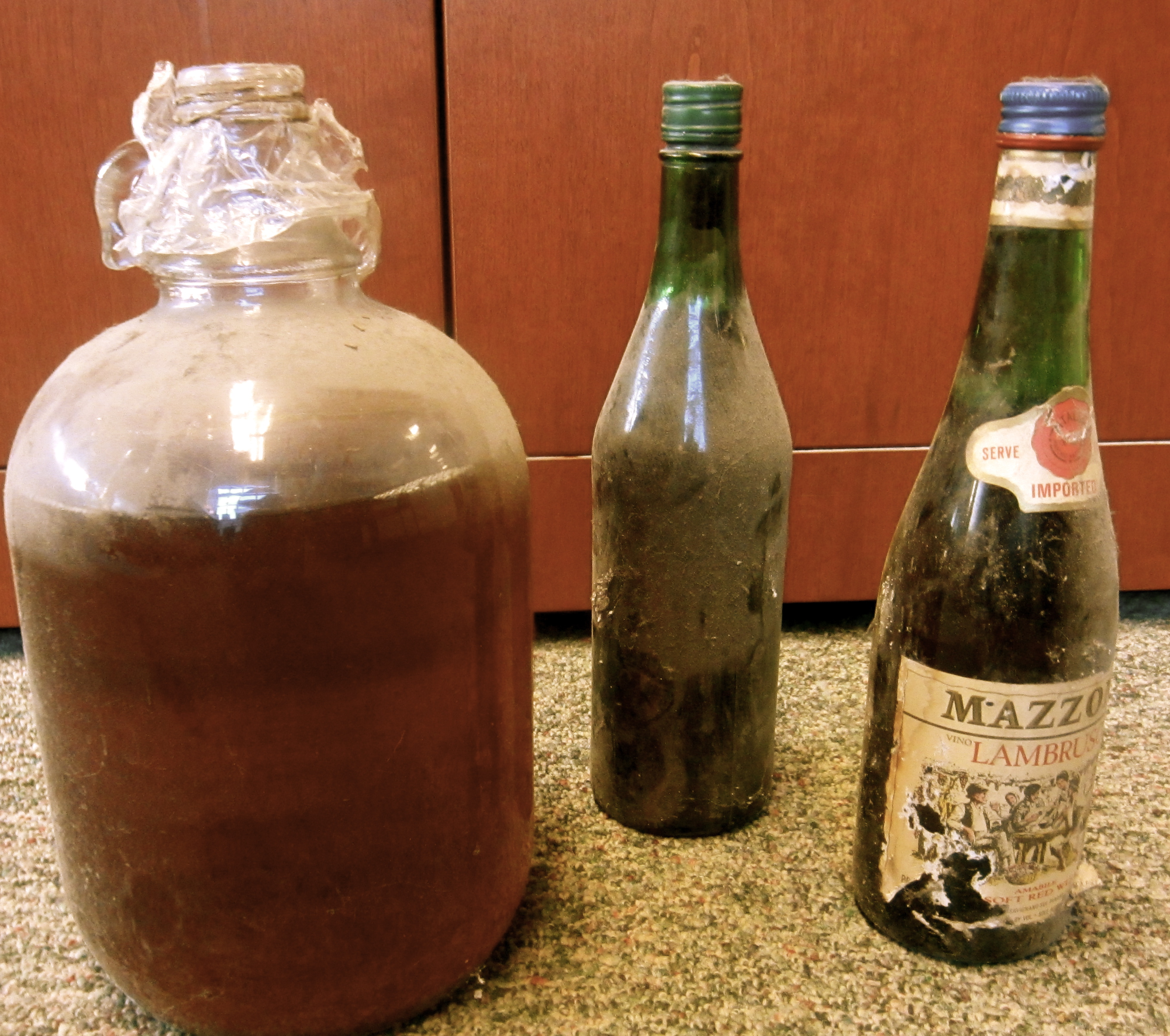 Hidden Treasures: moonshine bottles