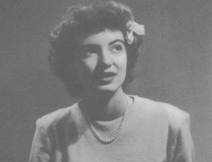 Marcia Légère in 1945. Photo Courtesy of The Green Room.