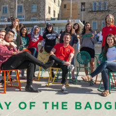 Celebrating Day of the Badger