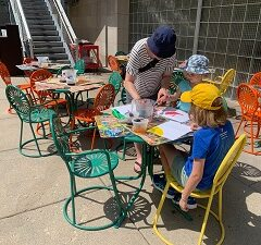 Mornings on Mendota Bring Family Fun and Science to the Terrace