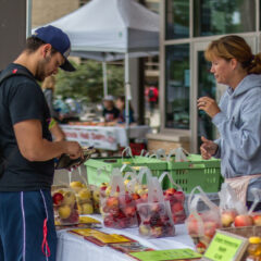 Campus Farmer's Market Brings Excitement to UW Community